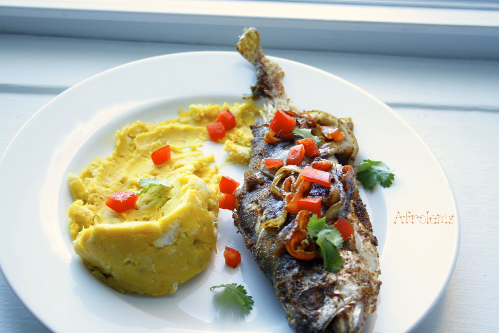 Nigerian grilled fish for Croaker fish recipe