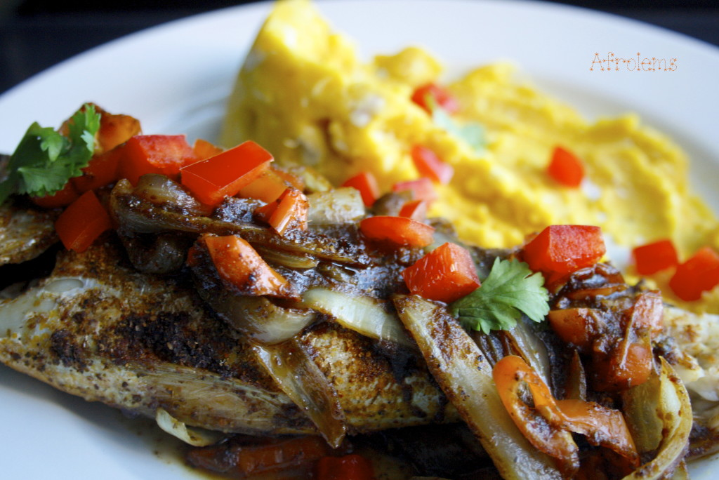 Spicy nigerian coraker fish for Croaker fish recipe
